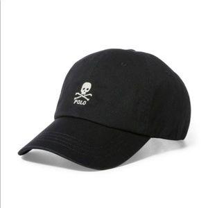 NWT Polo Ralph Lauren Skull Hat